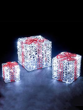 acrylic-led-gift-box-indoor-christmas-decorations-set-of-3