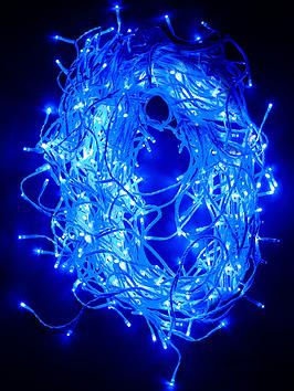 480 Blue Icicle IndoorOutdoor Christmas Lights (with FREE lights!)
