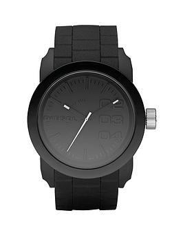 diesel-fashion-silicone-black-unisex-watch