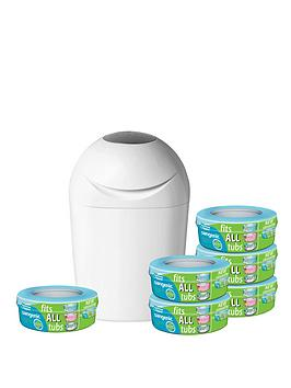 tommee-tippee-sangenic-nappy-disposal-starter-pack