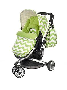 obaby-chase-3-wheeler-pushchair-zigzag-lime