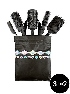 love-label-hair-brush-set
