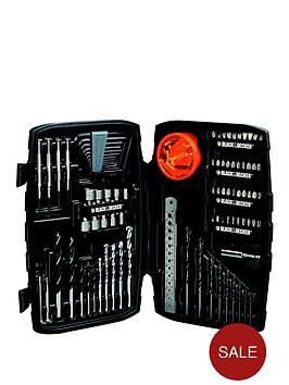black-decker-a7212-xj-150-piece-drilling-and-screwdriving-bit-set