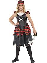 Skull and Crossbones Pirate - Childs Costume
