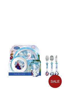 disney-frozen-dining-set