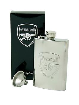 arsenal-personalised-hip-flask