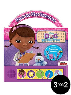 doc-mcstuffins---doc-to-the-rescue-little-handle-book-hardback