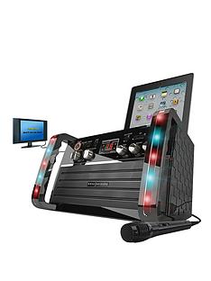 eks-213-cdg-karaoke-player-led-effect-ipadtablet-cradle