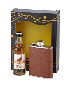 famous-grouse-hip-flask-set