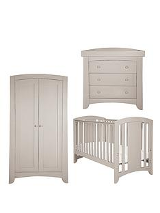 mamas-papas-harbour-cotbed-dresser-and-wardrobe-putty-buy-and-save