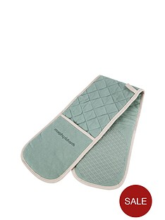 morphy-richards-double-oven-glove-sage