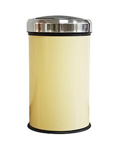 swan-simplicity-40-litre-push-top-bin-cream