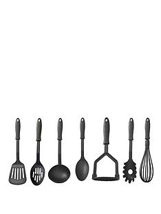 mason-cash-kitchen-essentials-nylon-7-piece-tool-set-black