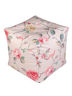 floral-print-cube