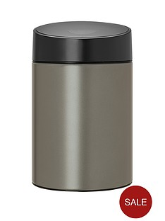 brabantia-slide-bin-5-litre-platinum
