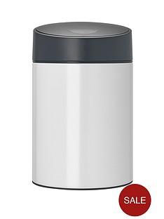 brabantia-slide-bin-5-litre-white