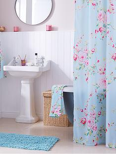 catherine-lansfield-canterbury-shower-curtain