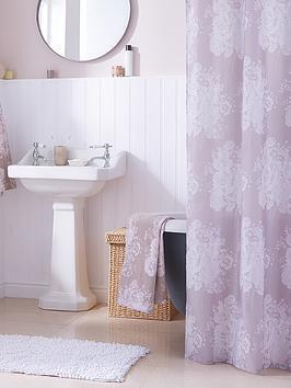 catherine-lansfield-versaille-shower-curtain