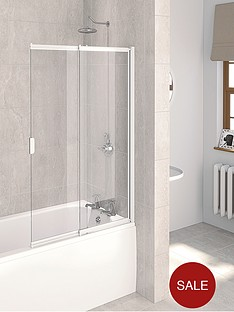 aqualux-aqua-4-2-panel-sliding-bath-screen-1275-x-820mm