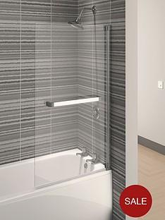 aqualux-aqua-4-square-bath-screen-1375-x-750mm