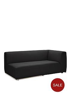 boda-modular-left-hand-single-arm-faux-leather-chaise