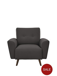 drew-faux-leather-armchair