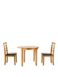 maine-half-moon-drop-leaf-table-2-chairs