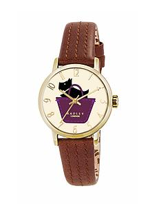 radley-ladies-border-pocket-dog-watch-with-genuine-leather-strap