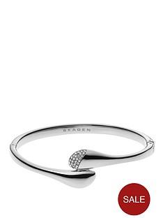skagen-pebble-stainless-steel-bangle