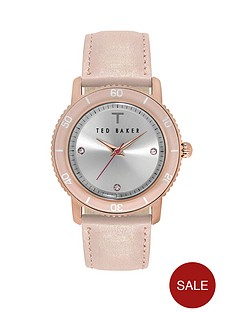 ted-baker-silver-dial-with-pink-leather-strap-ladies-watch