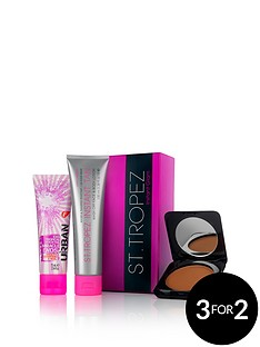 st-tropez-instant-tan-and-glow-kit-with-free-fudge-iced
