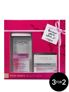 loreal-post-party-beauty-box