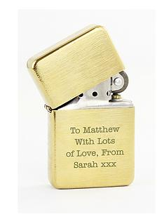 personalised-brass-windproof-lighter