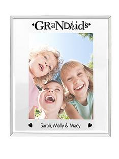personalised-grandkids-mirrored-5-x-7-inch-photo-frame