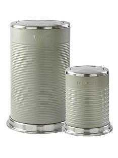 typhoon-ripple-40-litre-and-5-litre-kitchen-bin-set-stone
