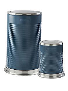typhoon-ripple-40-litre-and-5-litre-kitchen-bin-set-slate