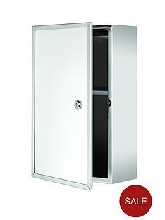 croydex-trent-lockable-medicine-cabinet