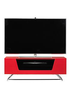 alphason-chromium-tv-stand-fits-up-to-50-inch-tv-red