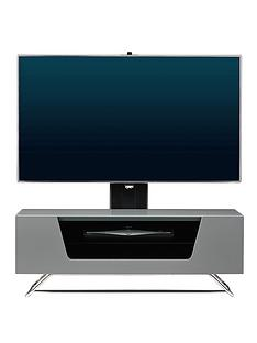 alphason-chromium-cantilever-tv-stand-grey-fits-up-to-50-inch-tv