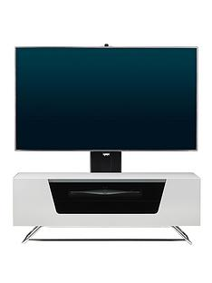 alphason-chromium-cantilever-tv-stand-white-fits-up-to-50-inch-tv