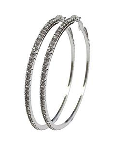 silver-tone-diamante-extra-large-65-mm-hoops