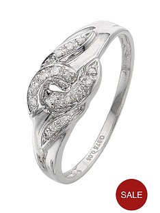 love-diamond-9-carat-gold-6-point-diamond-set-interlocking-ring