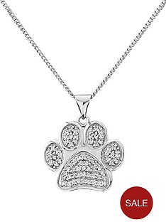 pawprints-sterling-silver-cubic-zirconia-pendant-with-message-only-true-friends-leave-pawprints-on-your-heart