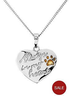 pawprints-gold-plated-on-sterling-silver-always-in-my-heart-personalised-pendant