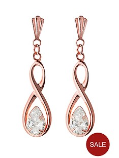 love-gold-9-carat-rose-gold-cubic-zirconia-figure-of-8-drop-earrings