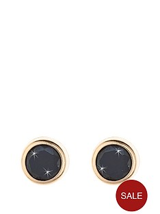 love-gold-9-carat-yellow-gold-5mm-rubover-precious-stone-earrings