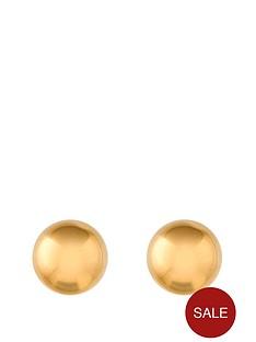 love-gold-9-carat-yellow-gold-5mm-ball-stud-earrings