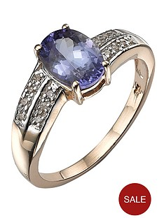 love-gem-9-carat-yellow-gold-tanzanite-ring