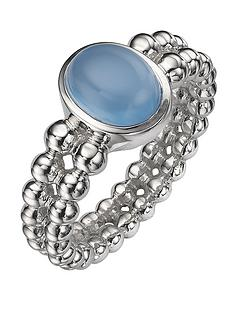 love-gem-sterling-silver-deep-blue-chalcedony-double-beaded-ring