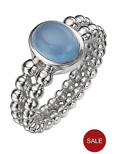 sterling-silver-deep-blue-chalcedony-double-beaded-ring